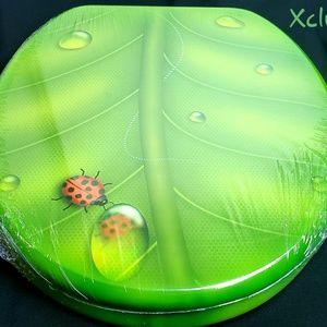 Green Leaf Ladybug Rare Toilet seat New Sealed